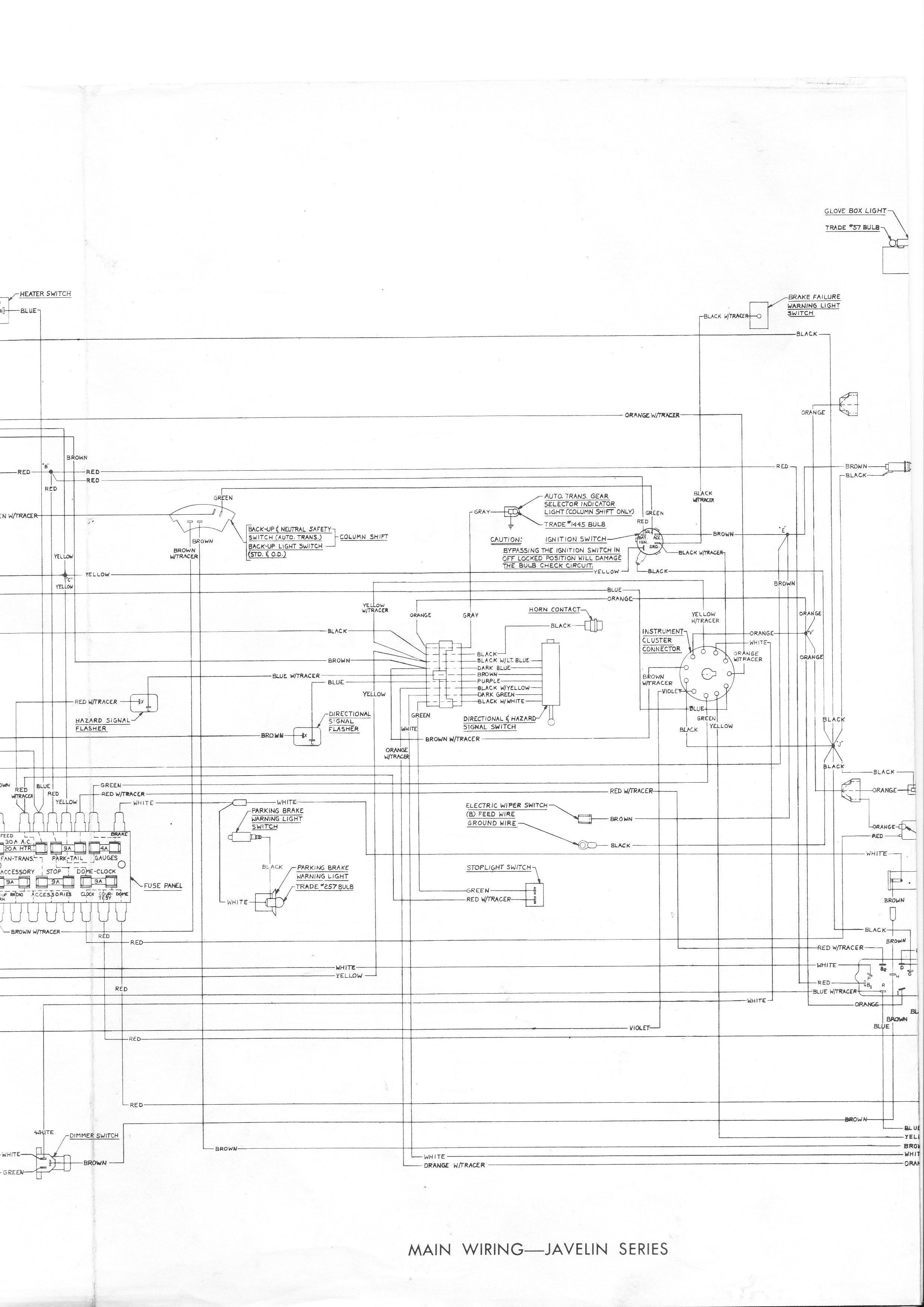 1969 amc javelin wiring diagram wiring diagram fuse box u2022 rh friendsoffido co 1970 AMC Javelin 1974 AMC Javelin